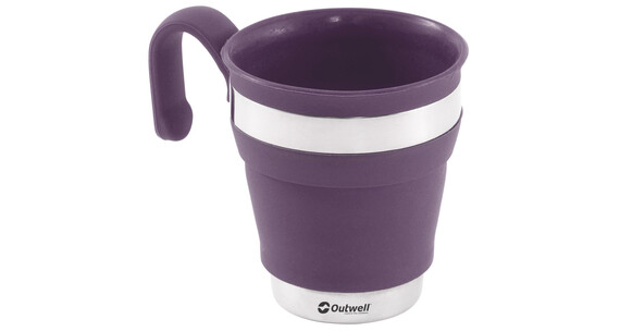 Outwell Collaps Mug plum